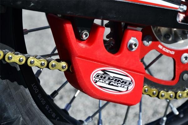 RED CHAIN GUARD