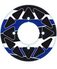 Pair Sprocket Stickers Blue