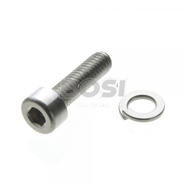Allen bolt rvs m4 with spring washer - BosiShop Offroad