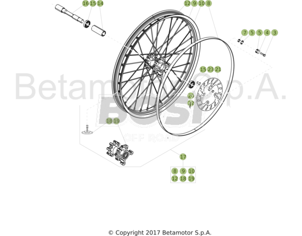 front-wheel