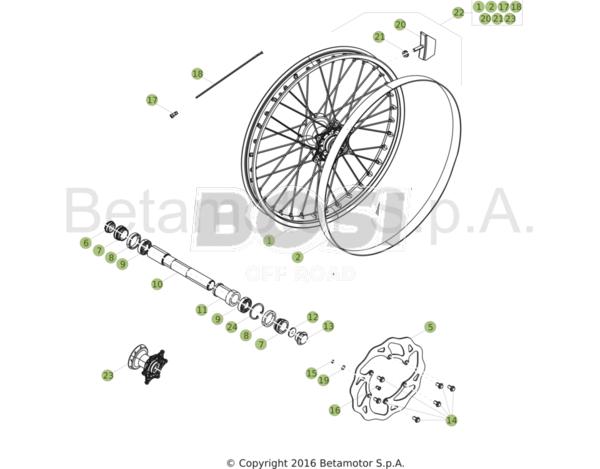 front-wheel