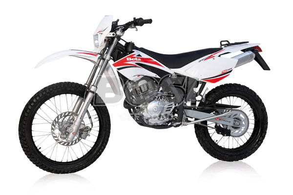 RE 125CC 4 STROKE '09 WHITE