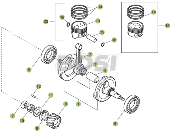 crankshaft-piston-balancer-shaft