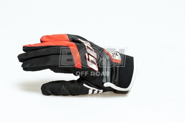 EDG GLOVES RED-BLACK
