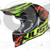 Helmet Just 1 Dominator Fluor- Black- Red