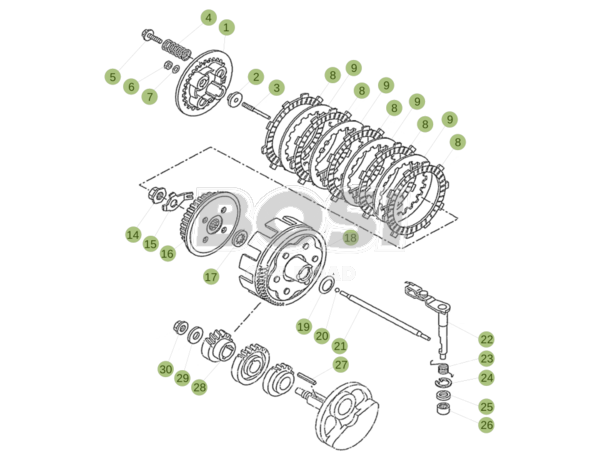 primary-gear-cpl_-clutch