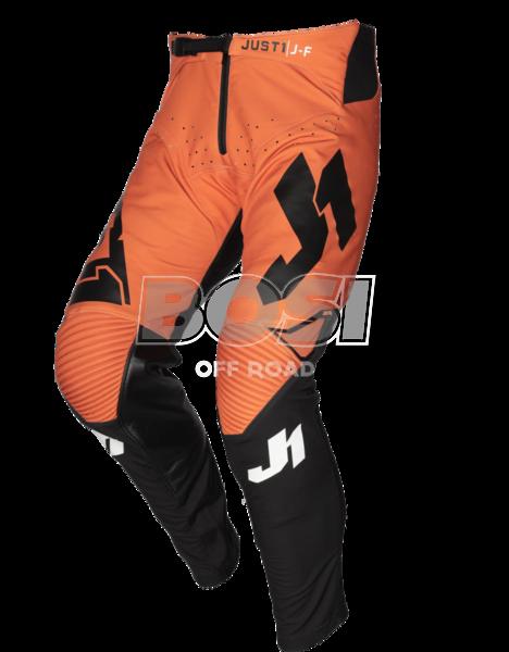 PANTS J-FLEX ARIA BLACK - ORANGE