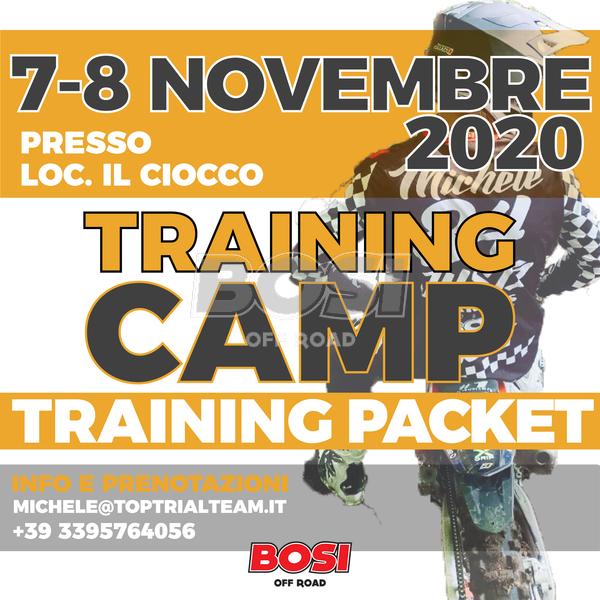 """07-08/11/2020 TRAINING CAMP  """"ONLY TRAINING """""""